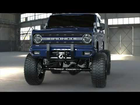 2020 Ford Bronco Concept!