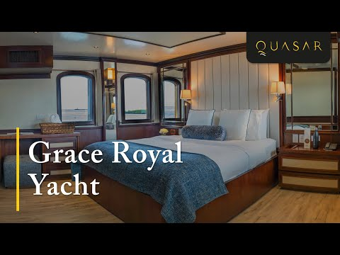 Experience M/Y Grace: The Royal Honeymoon Yacht with Quasar Expeditions