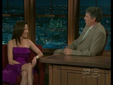 Late Late Show with Craig Ferguson 7/30/2008 Julie Chen, Michelle Yeohi, Tom Sullivan