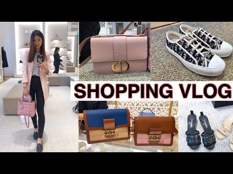LUXURY🛍SHOPPING WITH ME | Chanel, Dior, Fendi, LV | Alice Chen