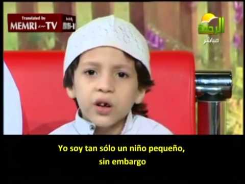 """Image result for Niño predicador egipcio: """"Amamos la muerte"""""""""""
