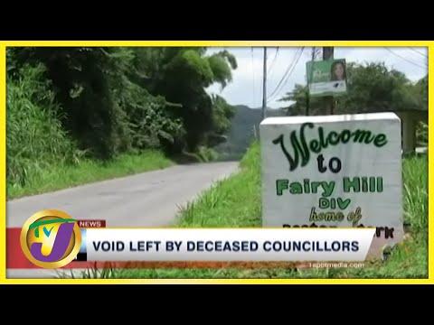 Void Left by Deceased Councillors in Communities Across Jamaica | TVJ News - July 23 2021