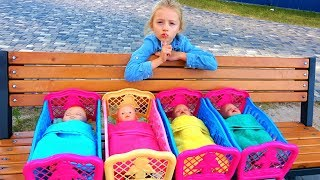 Are you sleeping brother John and more best kids video by Polina Play
