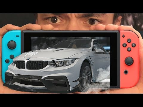 FIRST ACTUAL RACING GAME FOR NINTENDO SWITCH?!