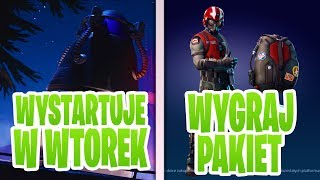 WYGRAJ PAKIET STARTOWY! | HIT EKRANU AKTYWUJE RAKIETE JUŻ WE WTOREK!? - (Fortnite Battle Royale)