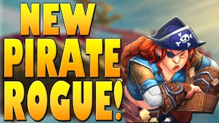 fASTEST Rogue Deck Yet?! New Pirate Rogue with SKYVATEER!  Galakrond's Awakening  Hearthstone