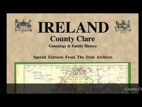 Kane Family History; Co. Clare Ireland Genealogy; Leaplings; Irish Tartans? IF58