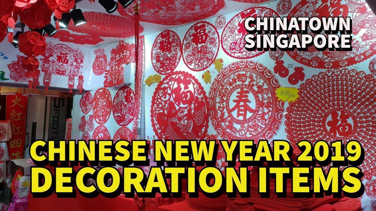 Chinese New Year 2019 :: Decoration Items @ Chinatown ...