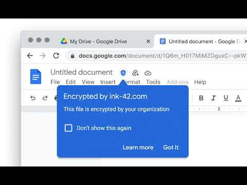Introducing Google Workspace Client-side Encryption