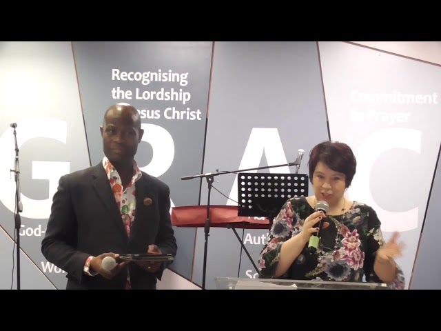 COUPLES FORUM 29/02/2020 - TALK 4: Dealing with Stress and Pressure in Marriage