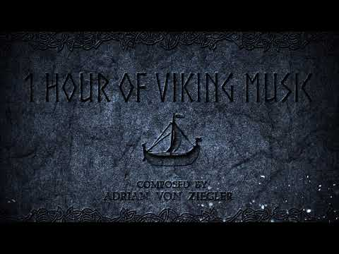1 Hour of Nordic/Viking Music by Adrian von Ziegler