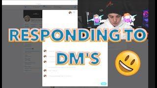 Baixar RESPONDING TO DMS!!