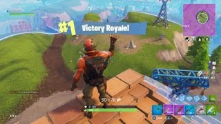 Fortnite solo win action packed