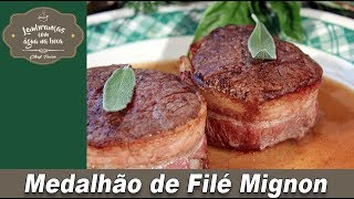 Medalhão de Filé Mignon - Lembranças com Água na Boca - Chef Taico