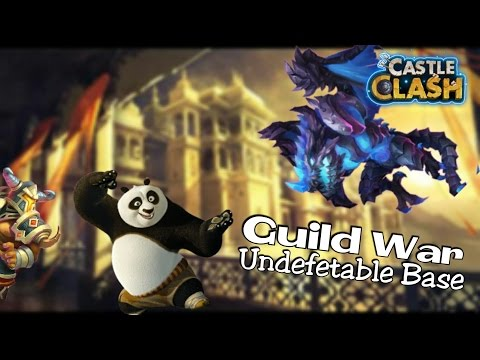 Castle Clash : Guild War ☆ Best Base ☆