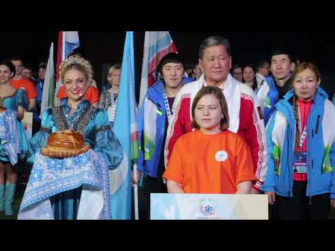 Открытие VIII Всероссийских Зимних сельских спортивных игр