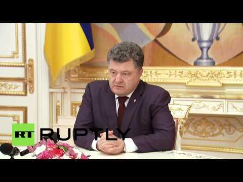 Ukraine: Poroshenko nominates Poltorak as new Defence Minister