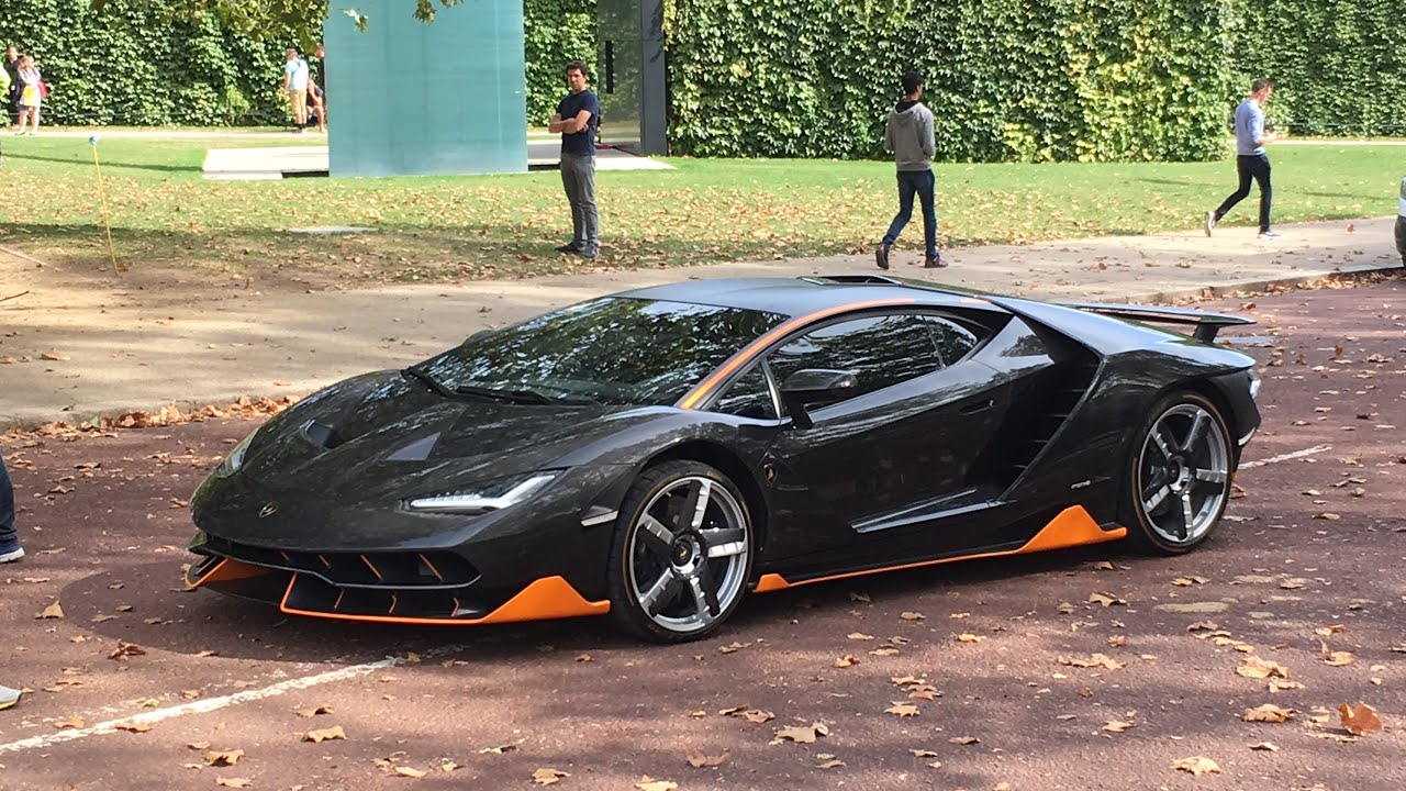 Lamborghini Centenario Mad Accelerations In London For The New