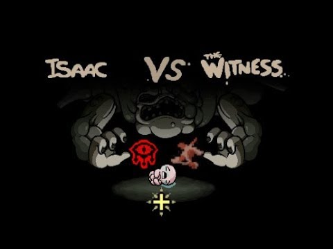 The Binding of Isaac Antibirth (Isaac vs The Witness)