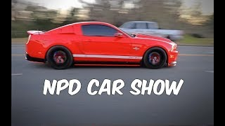 Mustangs Leaving NPD Car Show