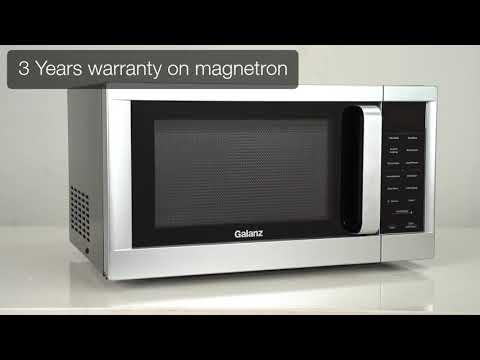 Galanz 30L Solo Microwave Oven Model GLCMS630BKM09