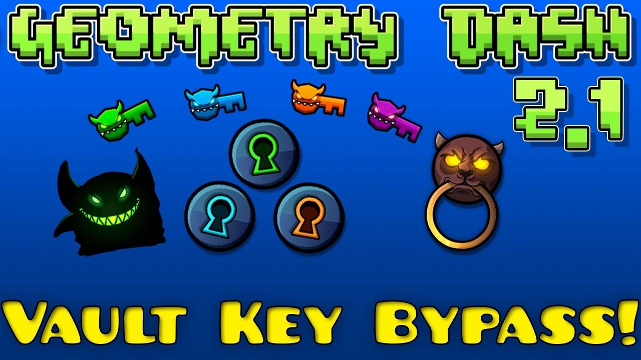 geometry dash keys