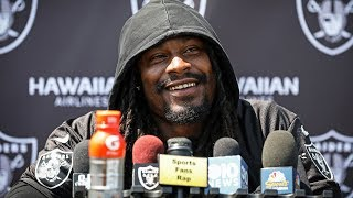 RB Marshawn Lynch On Recent Community Projects And Getting Back To His Playing Ability