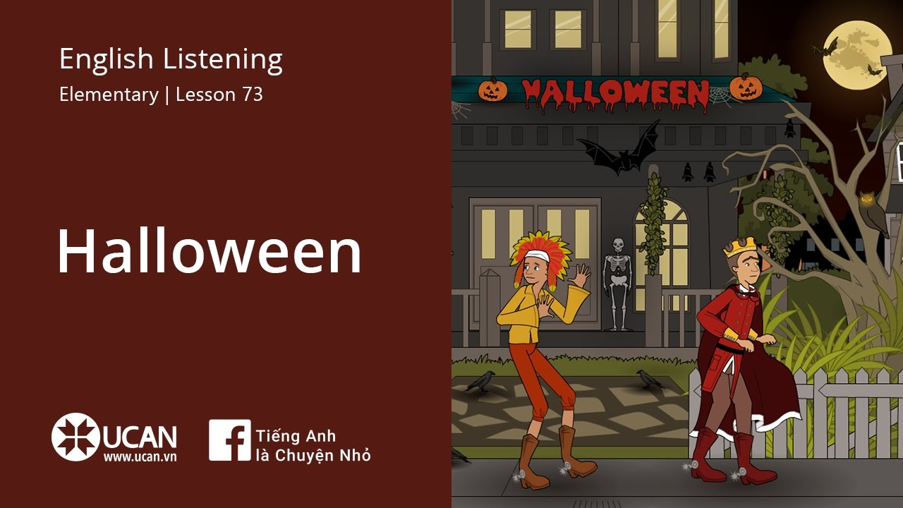 Halloween listening 2 (Learning English Online Ucan Vn