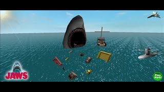 Let's play Roblox:JAWS part 3