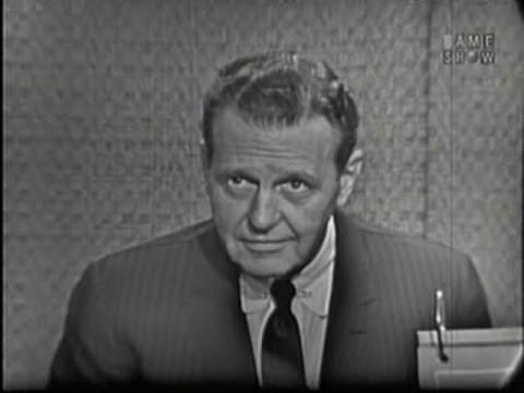 What's My Line? - Ralph Bellamy; Tony Randall [panel] (Sep 4, 1960)