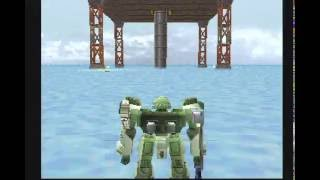 Armored Core (PS1) Gameplay