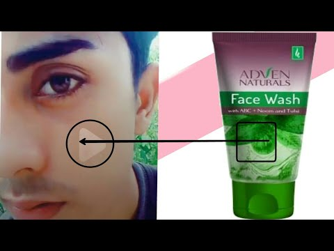 Homeopathic  Adven Naturals Face Wash with ABC+Neem and Tulsi face wash for glowing face