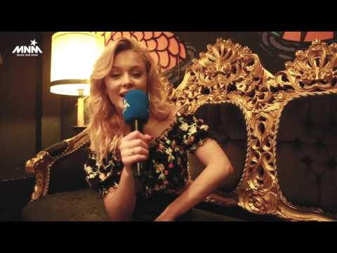 MNM: Zara Larsson interview at secret showcase in Amsterdam