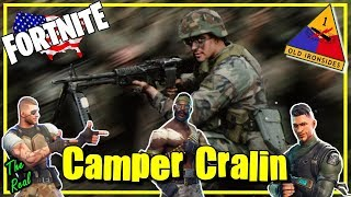 Happy Memorial Day / Camper Cralin / Fortnite Military Skins