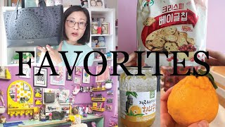My favorite snacks and things...