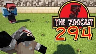 Minecraft Jurassic World (Jurassic Park) ZooCast - #294 Hatching 10 Compsognathus