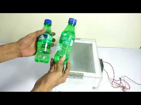 Mini Can Cooler Fridge Using Peltier