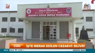 Silivri Cezaevi ilk kez A Haber'de! - Adı Ergenekon, Balyoz gibi bir çok davayla gündeme gelen Silivri Ceza İnfaz Kurumları kapılarını ilk kez bir televizyona, A Haber'e açtı. İşte 8 yıldır merak edilen ...