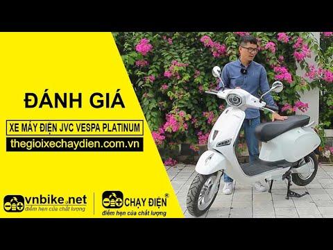 Xe máy điện JVC Vespa Platinum