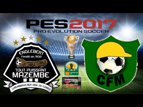 PS4 PES 2017 Gameplay TP Mazembe vs CF Mounana HD