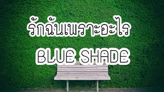 เพลง รักฉันเพราะอะไร - BLUE SHADE