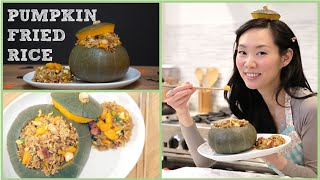 Best Fried Rice Recipe, Ever! Pumpkin Fried Rice (japanese Kabocha)