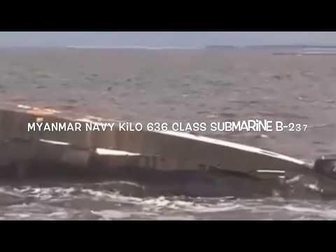 Myanmar Military Might (Naval Submarine)
