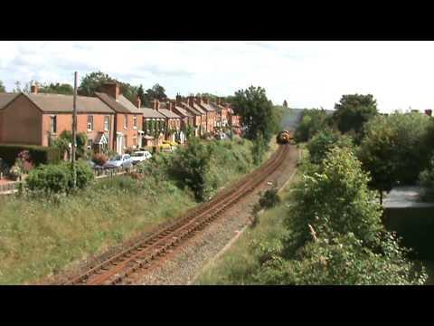 "40145 ""The East Lancs Crusader"" Passes Drawell Street, Shrewsbury 13-06-2009"