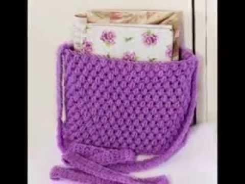 inspirasi cara pembuatan tas rajut crochet  YouTube