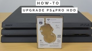 How to Upgrade PS4 PRO HDD