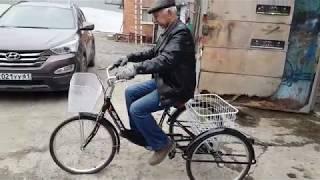 Иж Байк Фермер трехколесный велосипед для взрослых, Видеообзор.