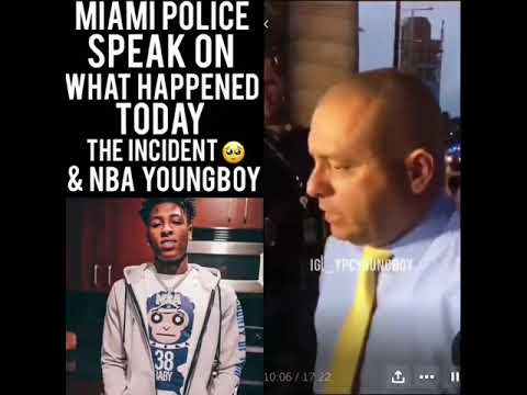Police Speak On The NBA YoungBoy and Tee Grizzley Shooting in Miami