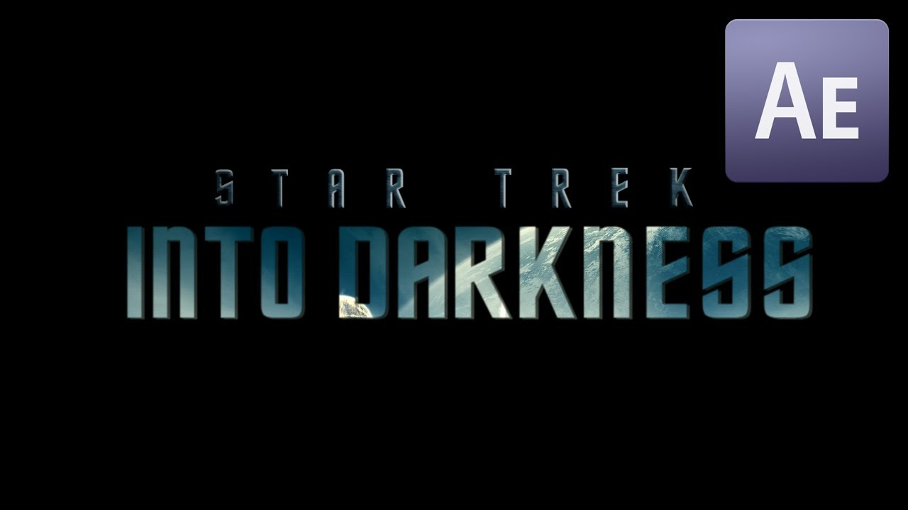 after effects star trek into darkness title animation template mryouhelp youtube. Black Bedroom Furniture Sets. Home Design Ideas