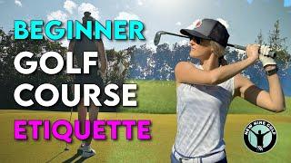 Golf Tips for Begiฑners - Etiquette Guide (2020)
